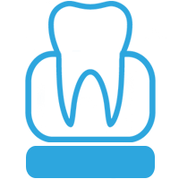 Icône de base molle de prothèse dentaire - Denturologiste Sylvain Perreault à Joliette